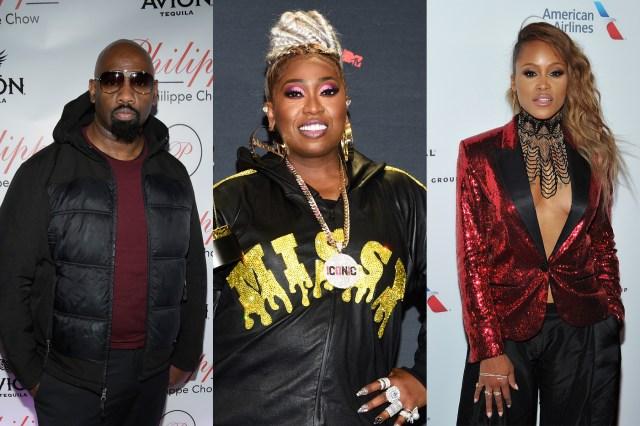 Missy Elliott, Eve, Ruff Ryders Co-Founder 'Waah' Dean Mourn DMX.jpg