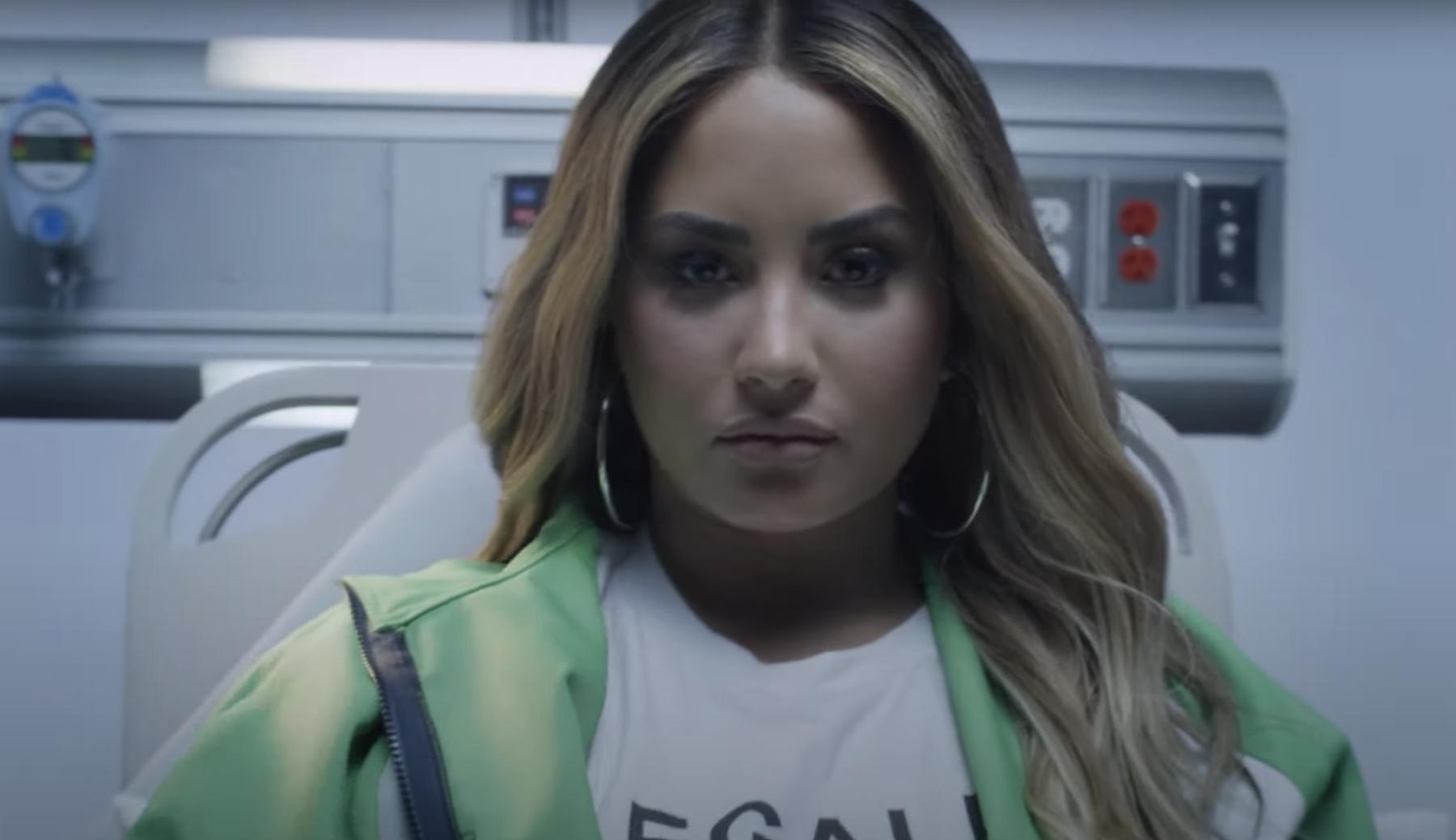 Demi Lovato Recreates Overdose Night in Haunting 'Dancing With the Devil' Video