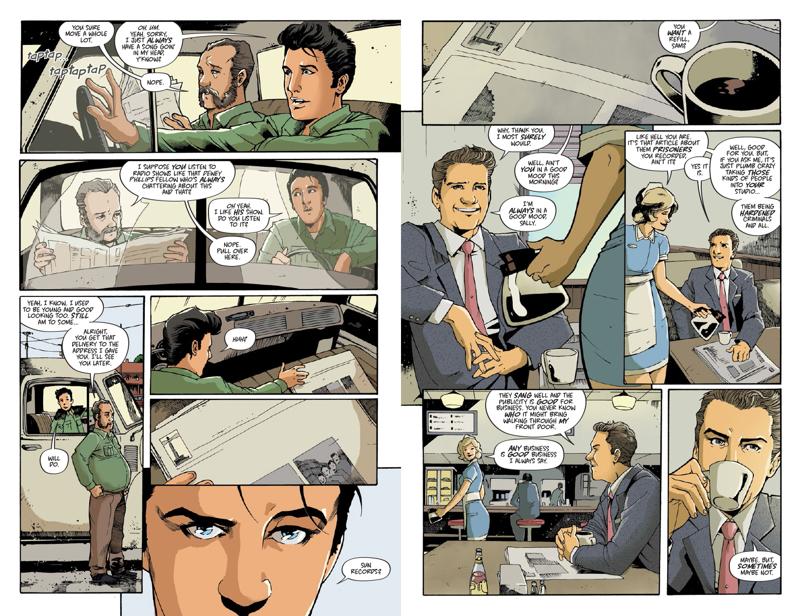 ELVIS THE GRAPHIC NOVEL