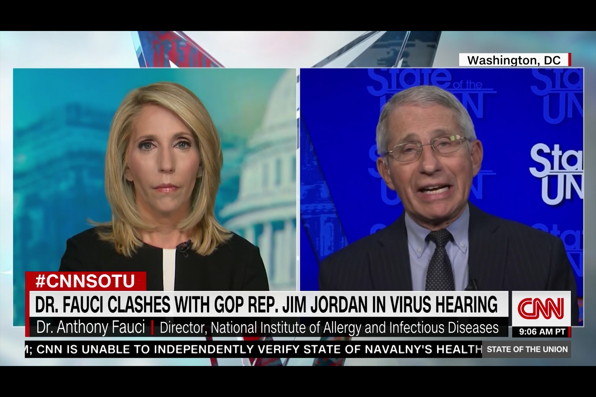 Fauci Responds to Attacks from Rep. Jordan and Republican Vaccine Hesitancy