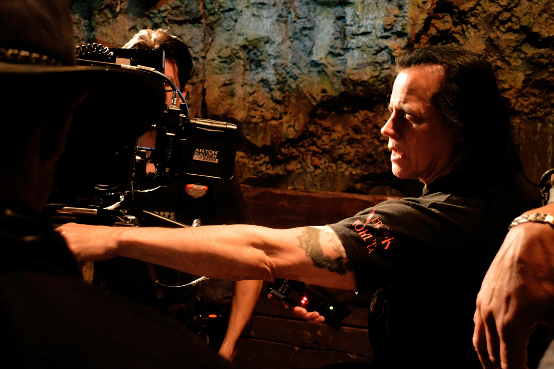 Danzig behind the camera.