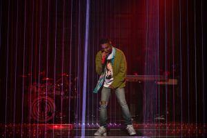 See Kid Cudi Pay Tribute to Kurt Cobain, Chris Farley as 'SNL' Musical Guest