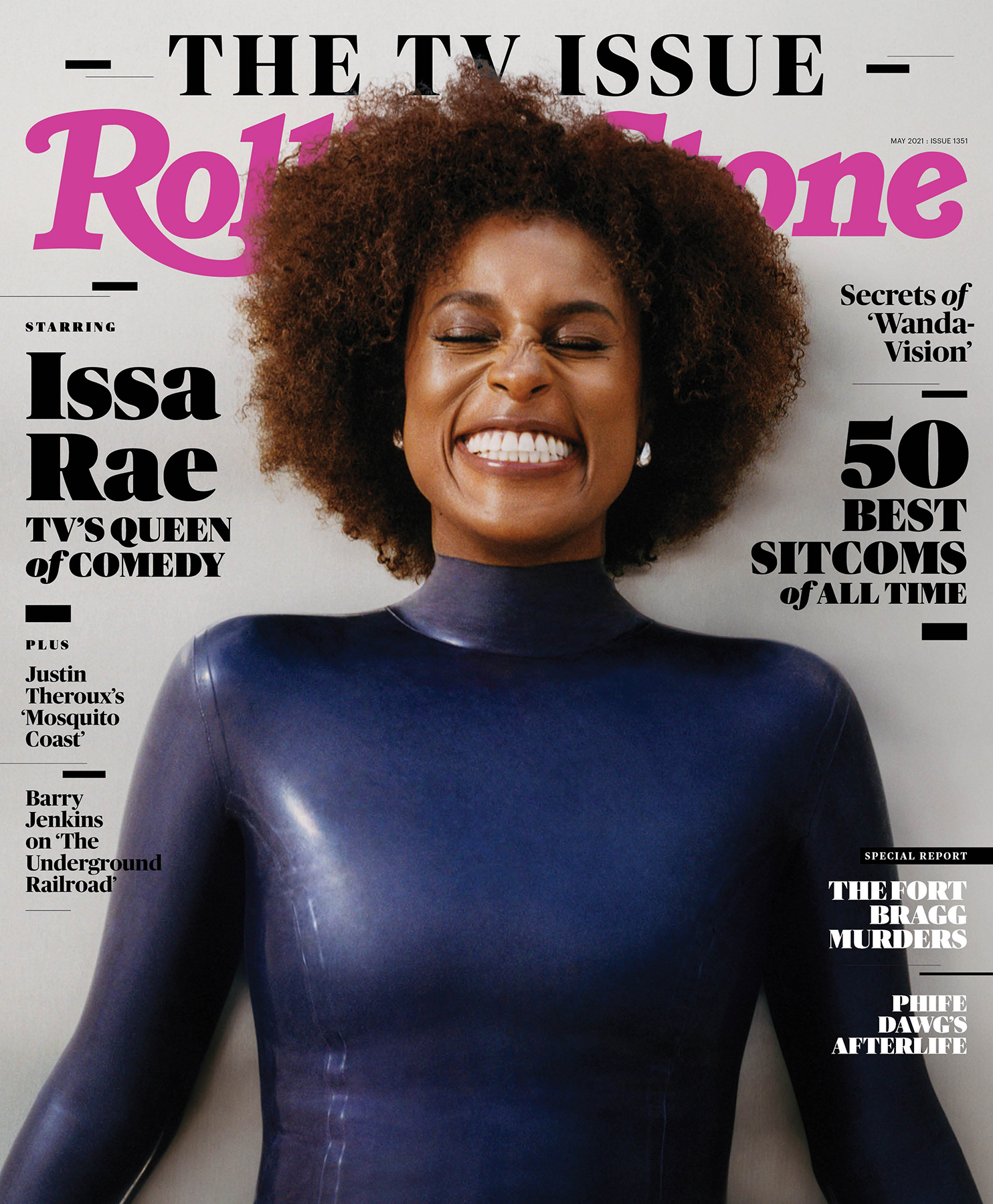 Issa Rae, photographed in Los Angeles on March 14th, 2021