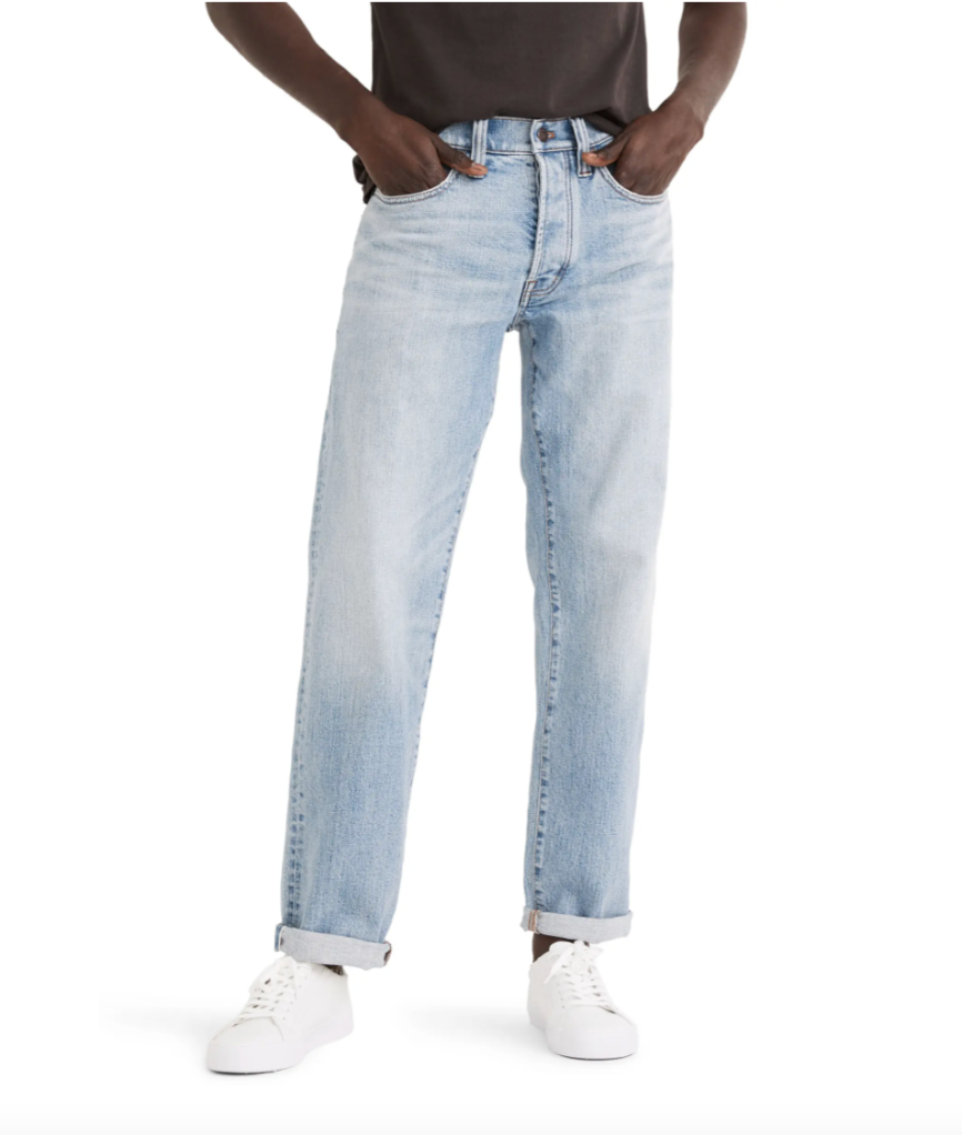 Best Dad Jeans Madewell in Light Wash