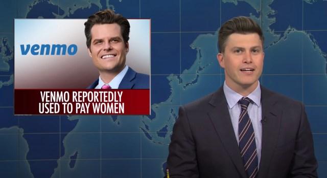 'SNL' Weekend Update Covers Latest Matt Gaetz Sex Scandal Allegations.jpg