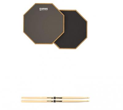 Evans Realfeel 2-Sided Practice Pad, Best Drum Practice Pad
