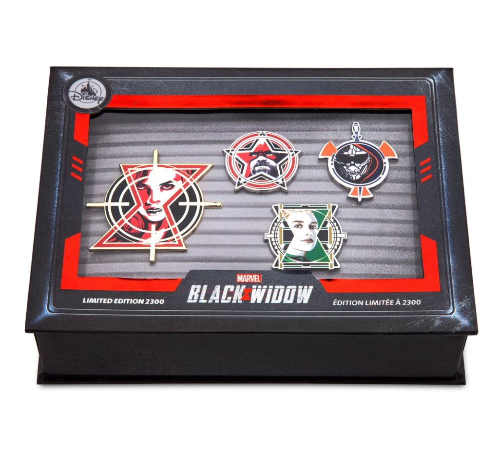 Black Widow Limited Edition Pins Marvel
