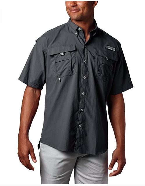 columbia men's fishing shirt