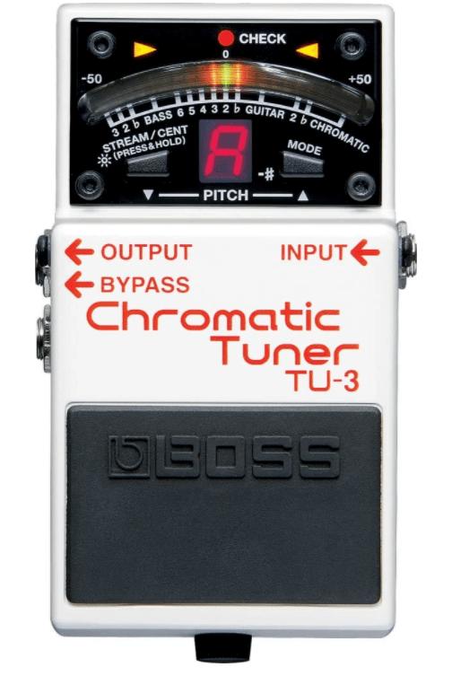 BOSS TU-3 Tuner (TU3), Best Guitar Tuner