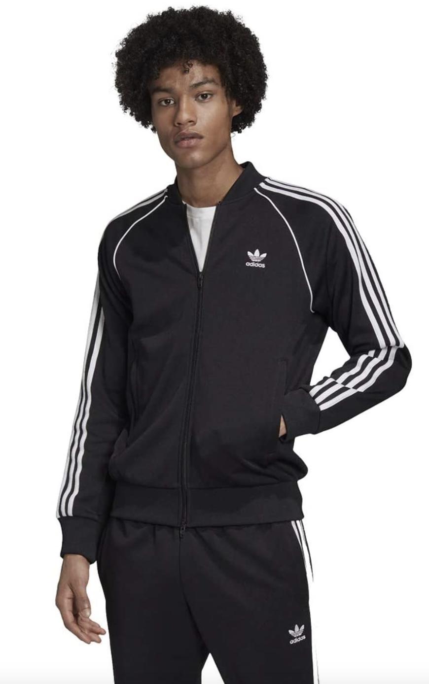 adidas tracksuit black mens