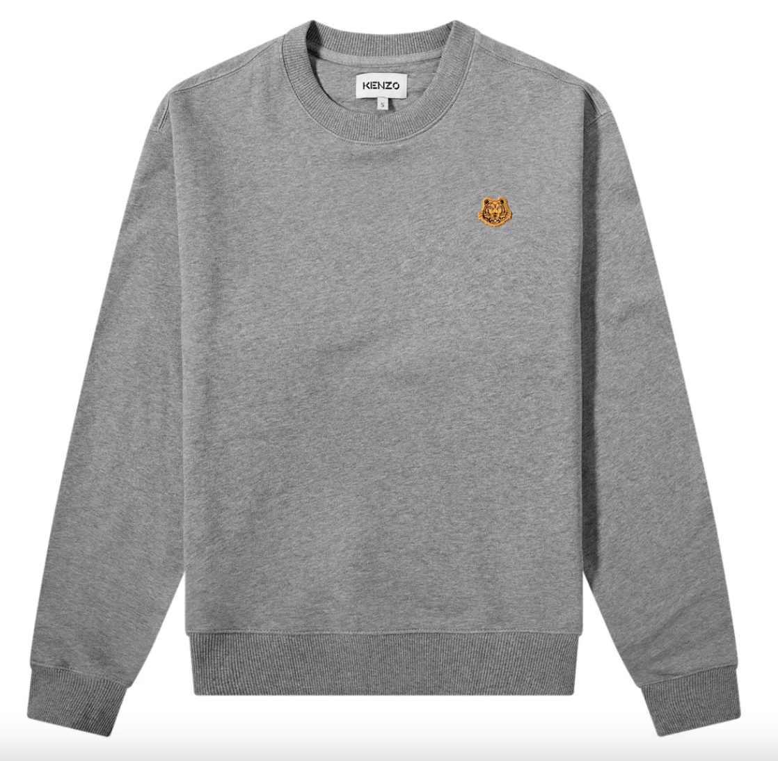 grey sweater designer kenzo