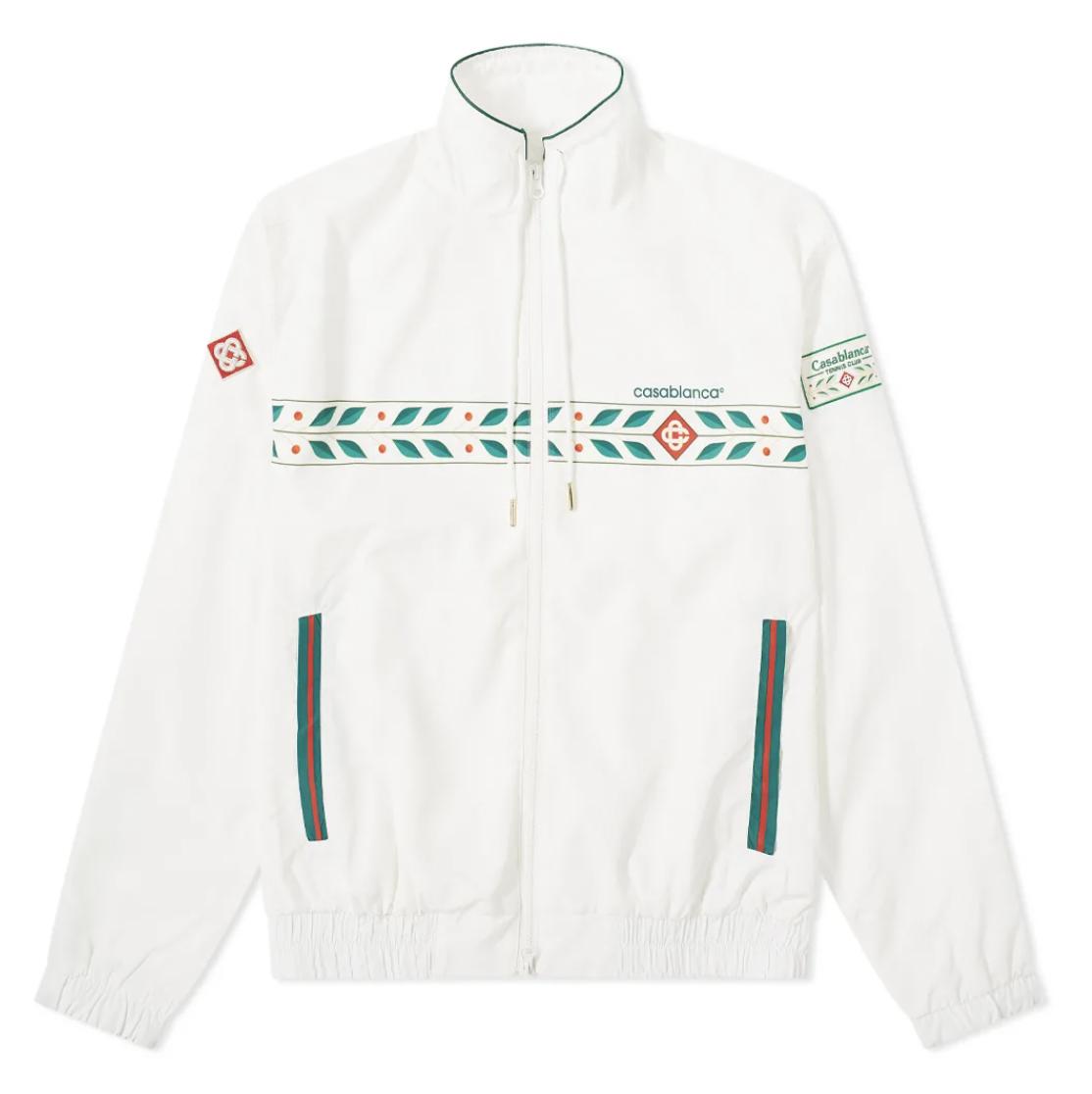 White track jacket mens