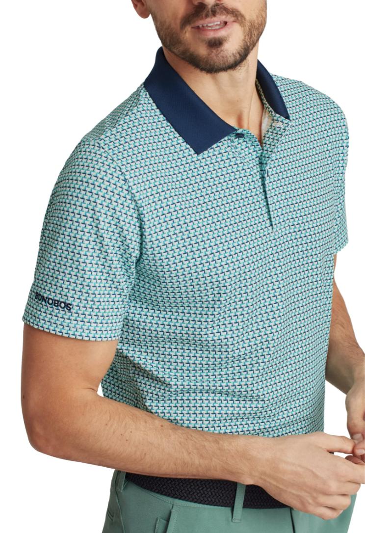 blue polo shirt golf bonobos