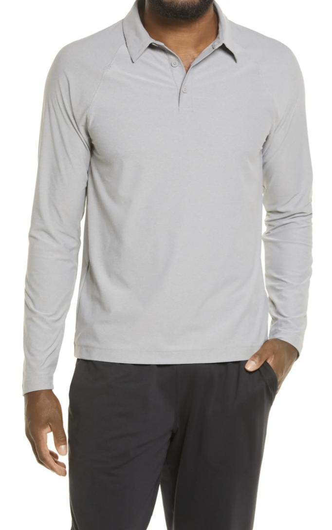 golf polo long sleeve mens