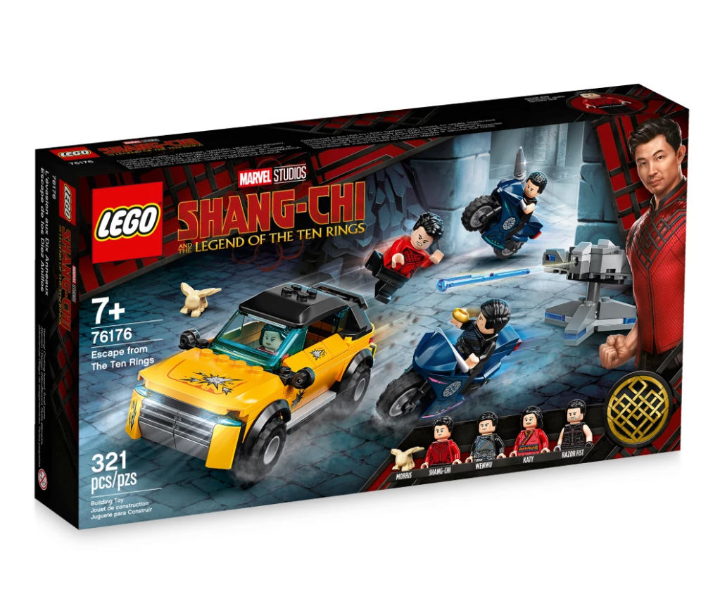 LEGO Shang-Chi and the Legend of The Ten Rings Set
