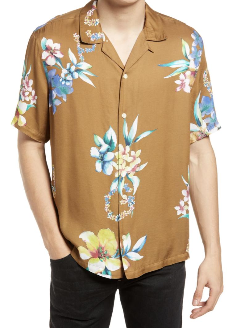 hawaiian shirt mens designer