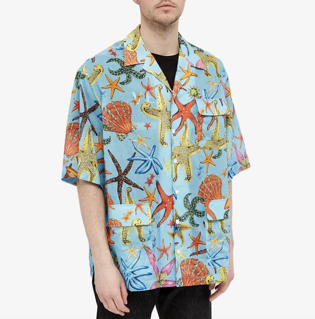 designer vacaiton shirt versace