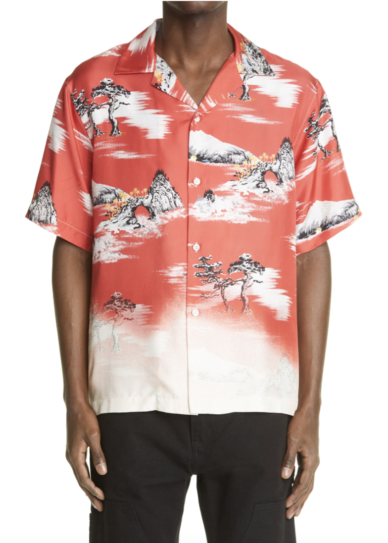 hawaiian shirt designer amiri