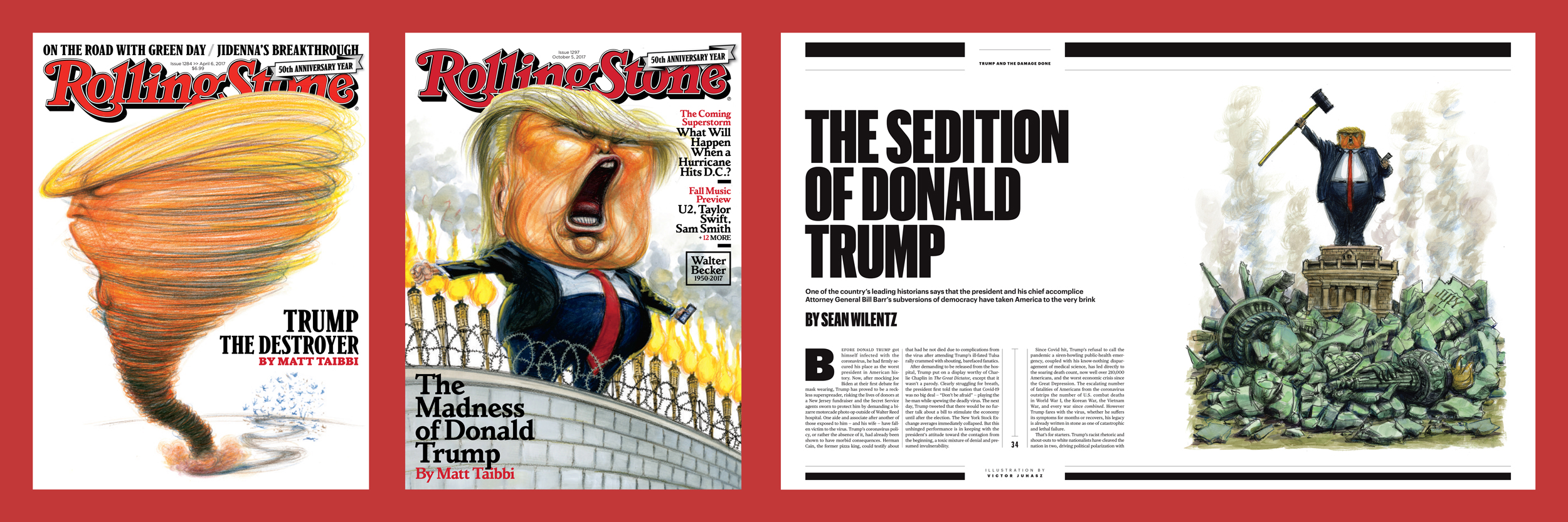 MeidasTouch accused Rolling Stone of pushing a pro-Trump agenda. Nothing could be further from the truth