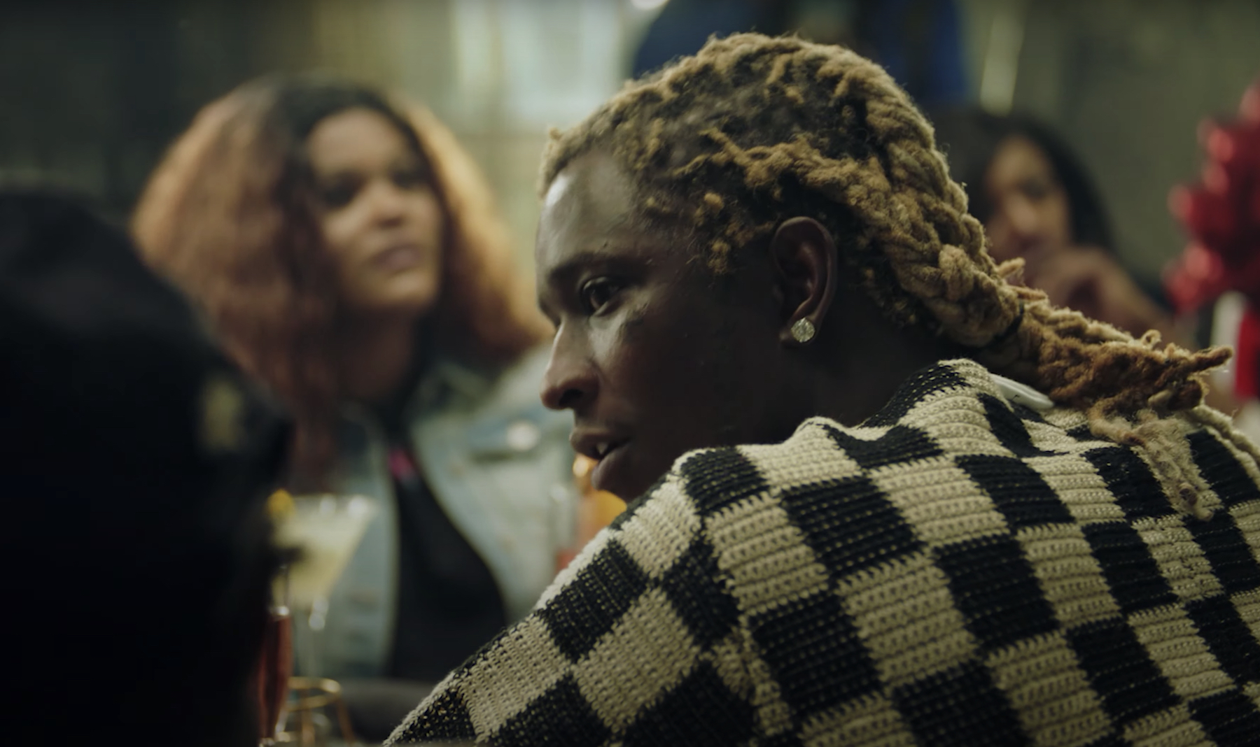 Young Thug Pays Bonds for Inmates in New 'Paid the Fine' Video