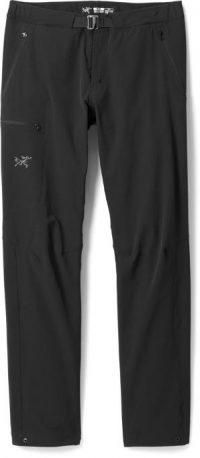 black hiking pants arcteryx mens