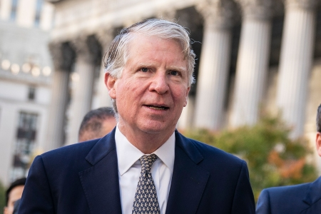 NEW YORK, NY - OCTOBER 23: Manhattan District Attorney Cy Vance arrives at federal court for a hearing related to President Donald Trump's financial records on October 23, 2019 in New York City. Lawyers for President Trump on Wednesday urged a federal appeals court to block New York City prosecutors from gaining access to the president's tax returns and business records in a case many suspect will head to the U.S. Supreme Court. (Photo by Drew Angerer/Getty Images)