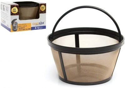 goldtone reusable steel mesh coffee filter