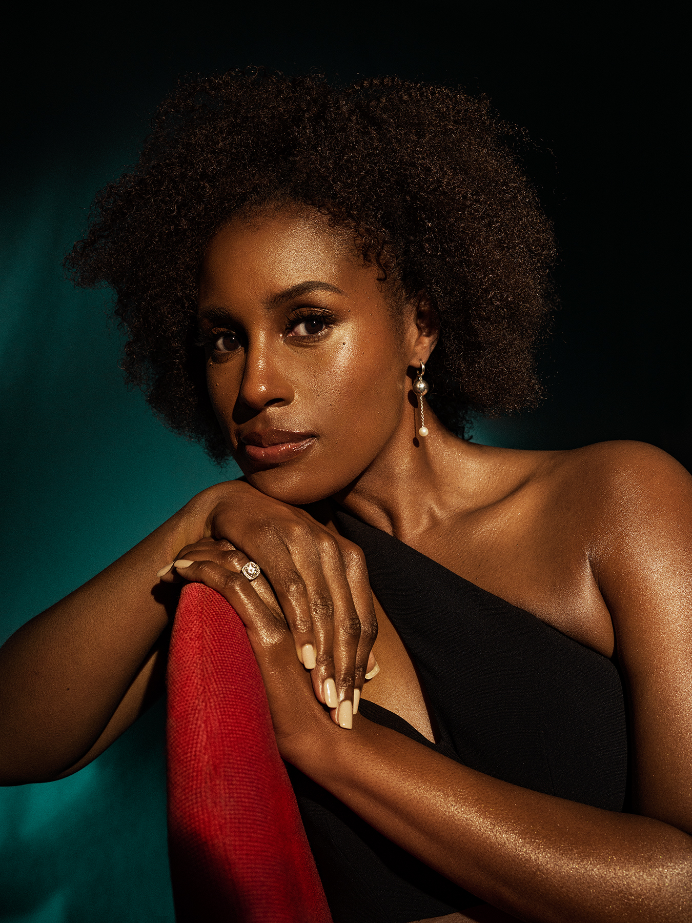 Issa Rae, photographed in Los Angeles on March 14th, 2021.