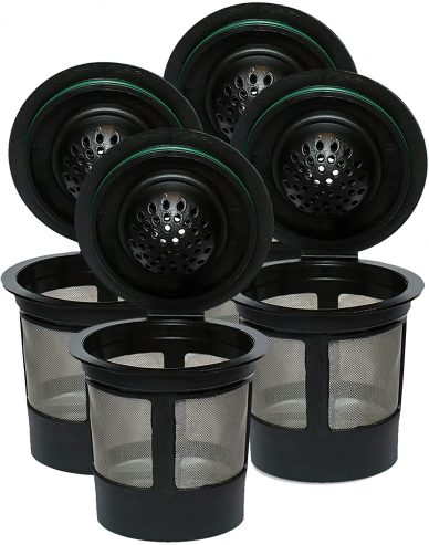 reusable steel k cups