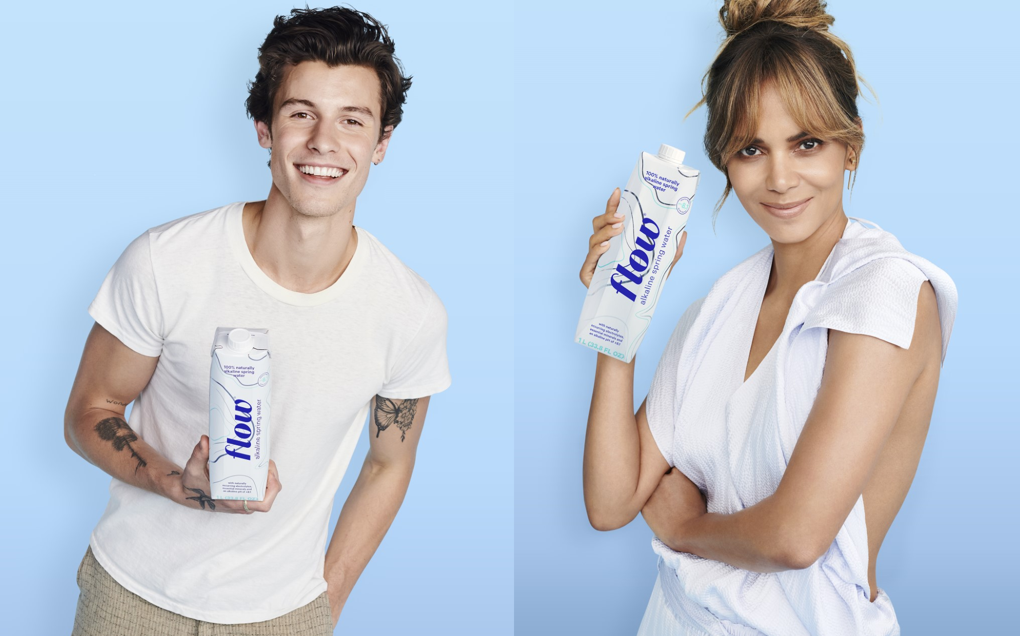 Shawn Mendes, Halle Berry, Tapped for New Alkaline Water Brand Campaign - Rolling Stone