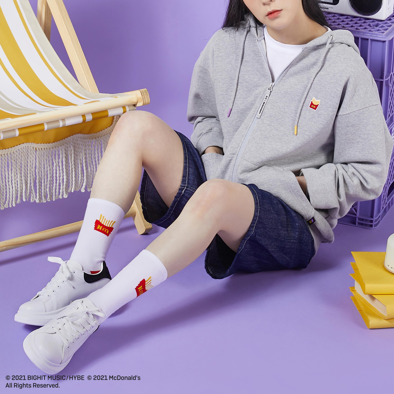 BTS x Mcdonald's socks