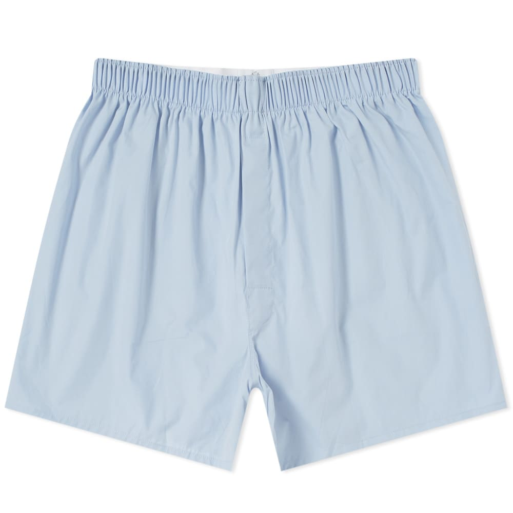 blue boxers mens sunspel