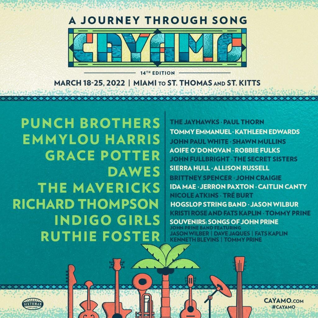 Cayamo Cruise 2022