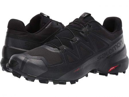 hiking shoes salomon black