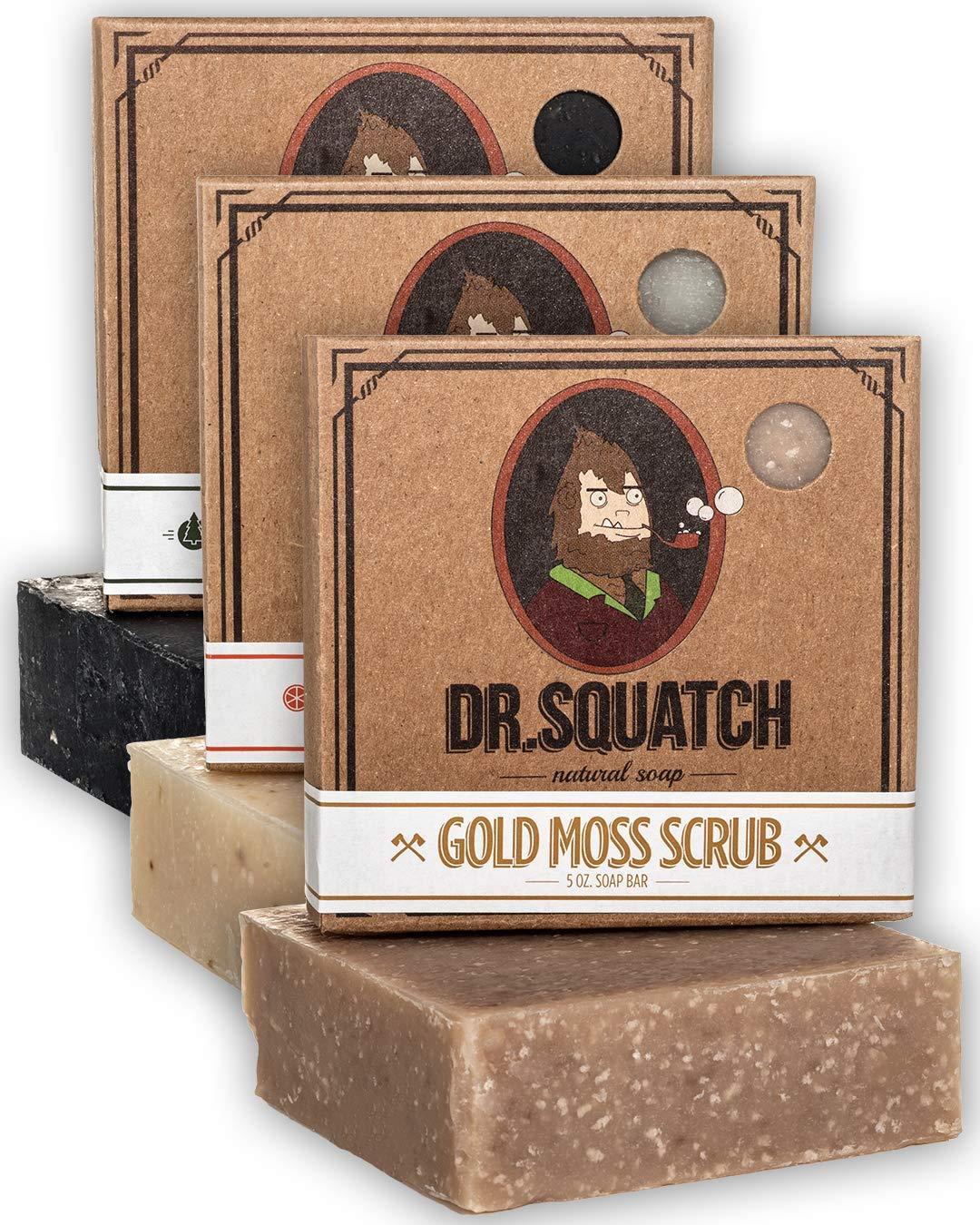 natural soap men's dr squatch