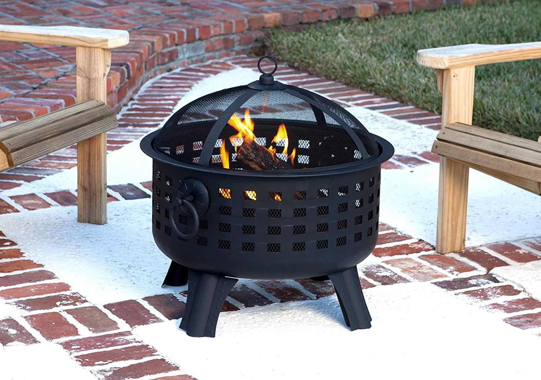 Amazon Basics Lattice Fire Pit