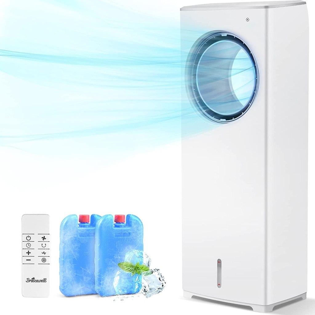 BREEZEWELL 2-in-1 Evaporative Air Cooler