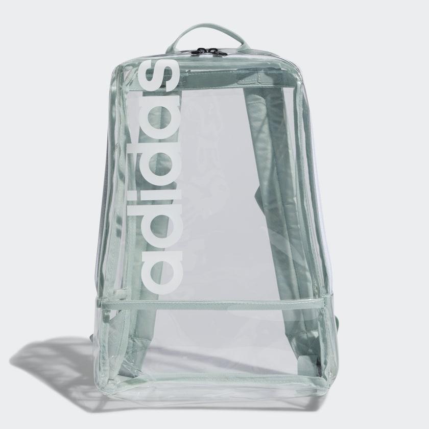 adidas clear linear backpack, best festival backpacks