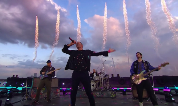 Watch Coldplay Open 2021 Brit Awards With 'Higher Power'
