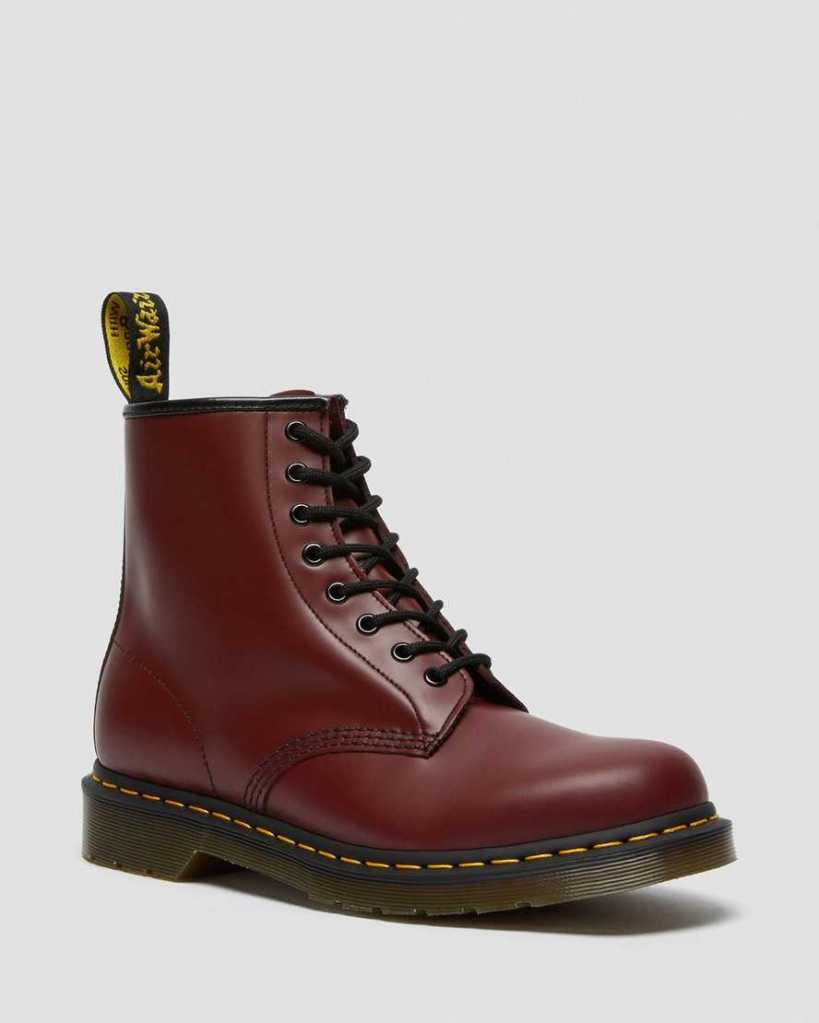 dr martens 1460 smooth leather lace up boots-best festival shoes