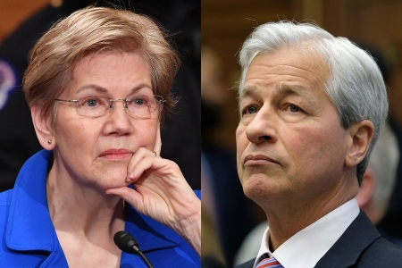 Elizabeth Warren Slams JPMorgan Chase's Jamie Dimon on Overdraft Fees - Rolling Stone