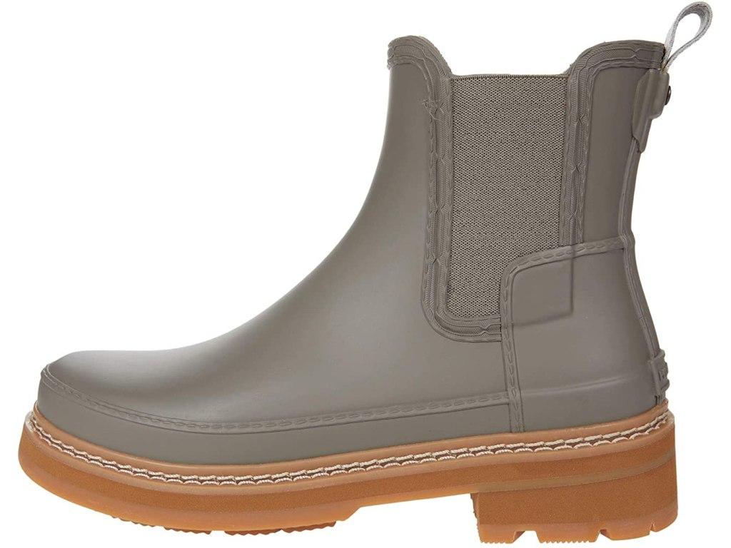 hunter refined stitch detail chelsea rainboot-best festival shoes