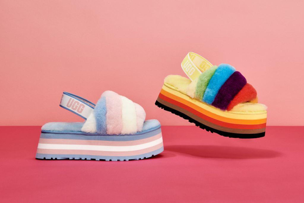 UGG Pride Disco Slides
