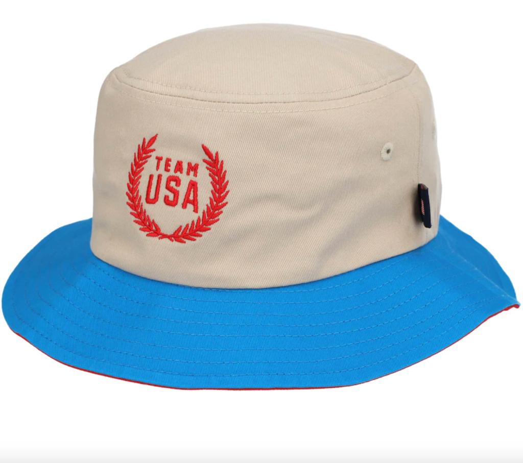 team usa road to tokyo bucket hat-best tokyo olympics merch