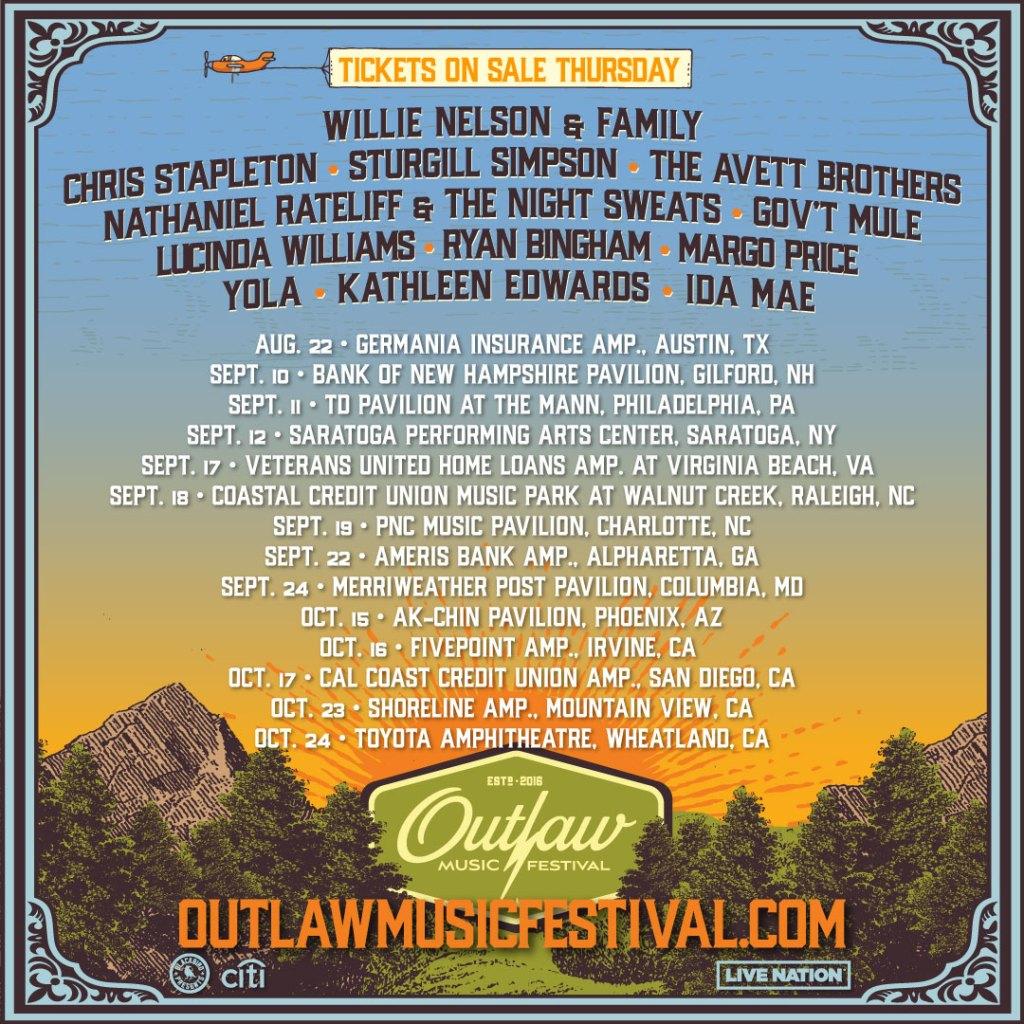 Outlaw Music Festival 2021