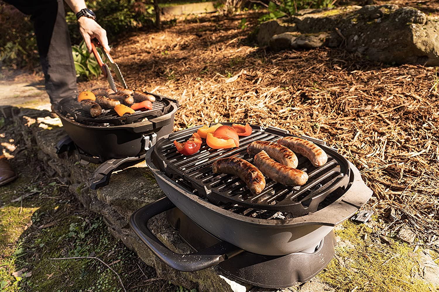 Portable Kitchen Portable Charcoal Grill