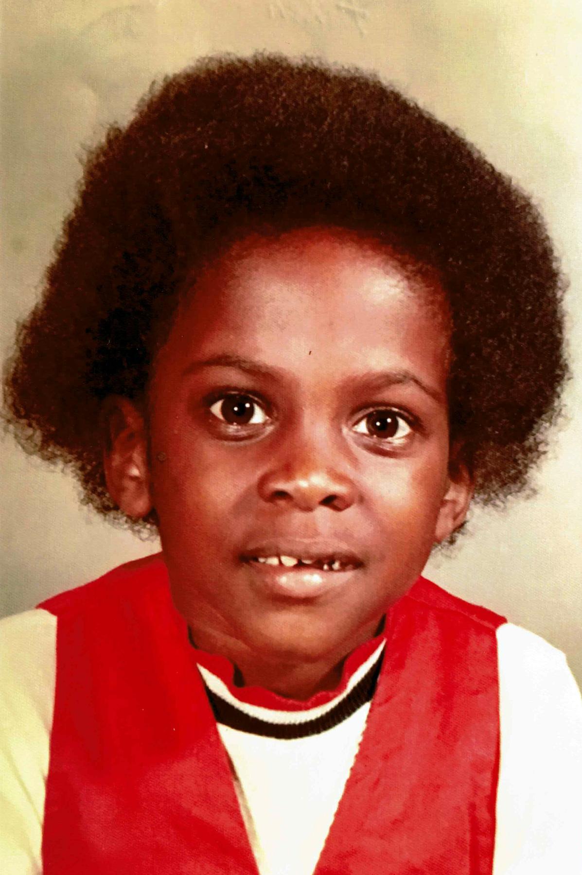 Malik Taylor as a kid in Queens, 1974