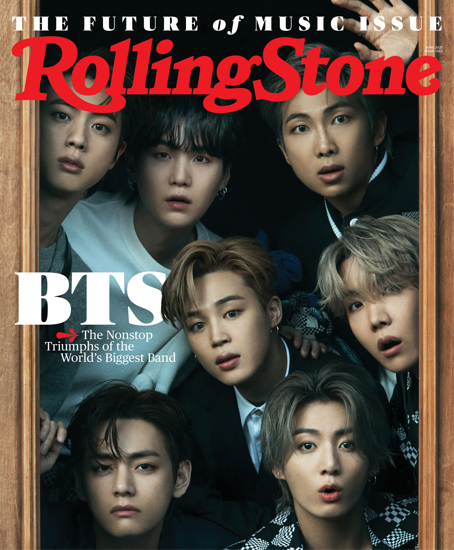 BTS, photographed in Seoul on April 6th, 2021 rolling stone cover bighit