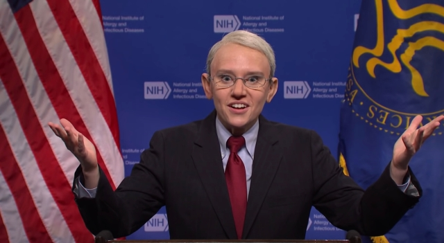 'SNL': Dr. Fauci Breaks Down New Covid-19 Mask Guidelines in Cold Open Sketch.jpg