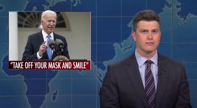 'SNL': Weekend Update Tackles CDC Lifting Mask Mandate.jpg